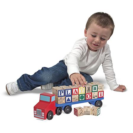 camion alfabeto melissa e doug